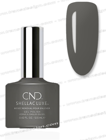 CND Shellac Luxe  -  Silhouette 0.42oz. *