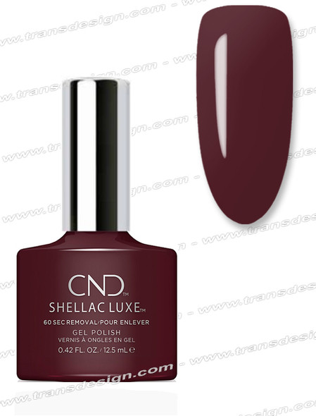 CND Shellac Luxe  - Black Cherry 0.42oz. *