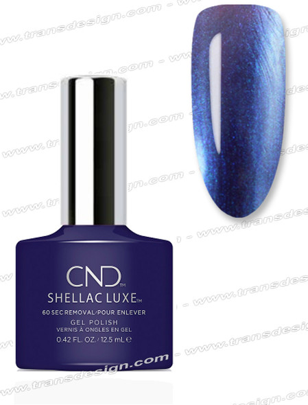 CND Shellac Luxe  - Eternal Midnight 0.42oz. *
