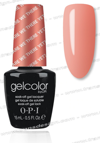 OPI GelColor - Are We There Yet? * 0.5oz.