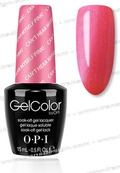OPI GelColor - Can't Hear Myself Pink! * 0.5oz.