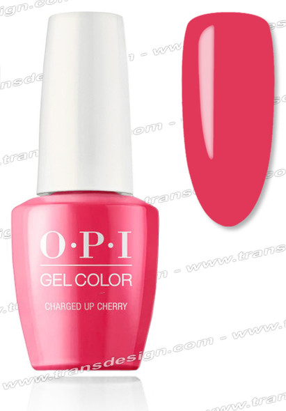 OPI GelColor - Charged Up Cherry  0.5oz.