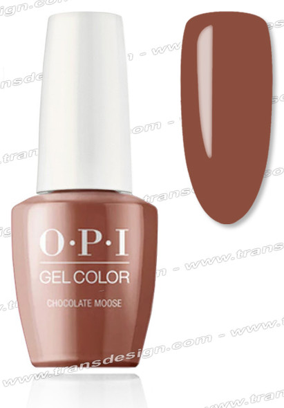 OPI GelColor - Chocolate Moose  0.5oz.