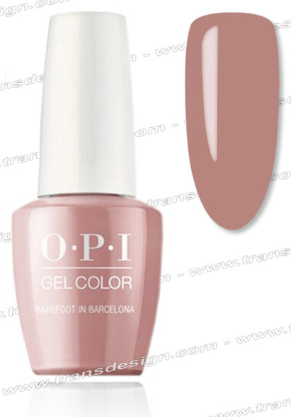 OPI GelColor - Barefoot in Barcelona 0.5oz.