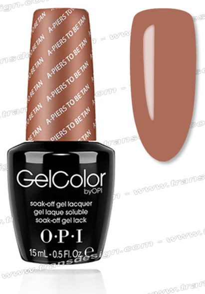 OPI GelColor - A-Piers To Be Tan * 0.5oz.