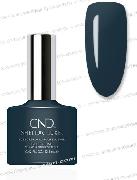 CND Shellac Luxe  - Indigo Frock 0.42oz. *