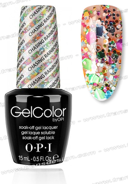 OPI GelColor - Chasing Rainbows * 0.5oz.
