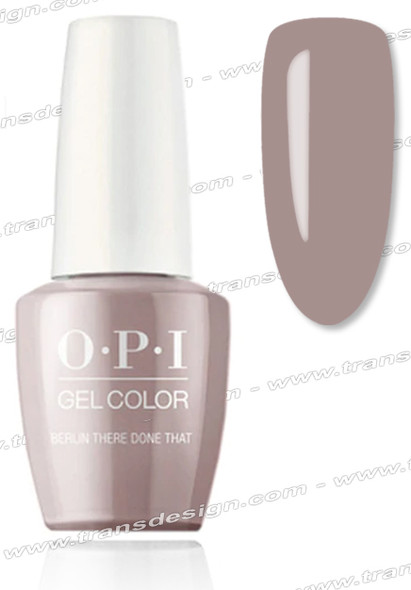 OPI GelColor - Berlin There Done That 0.5oz.