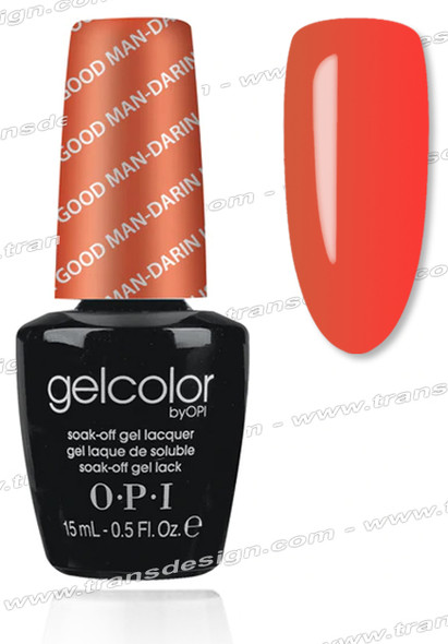 OPI GelColor - A Good Man-darin is Hard to Find 0.5oz.
