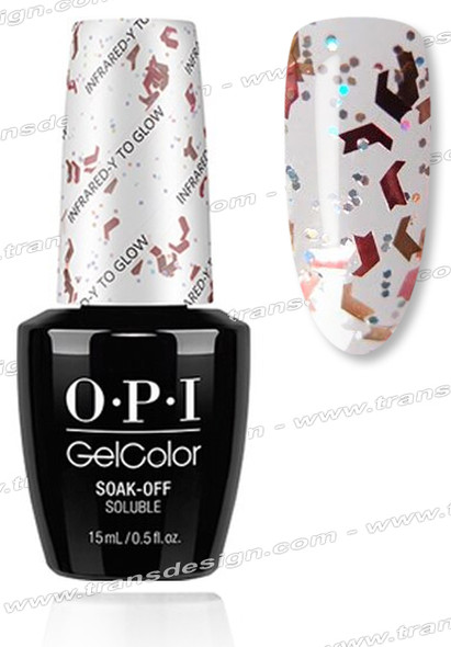 OPI GelColor - Infrared-y-to Glow * 0.5oz.