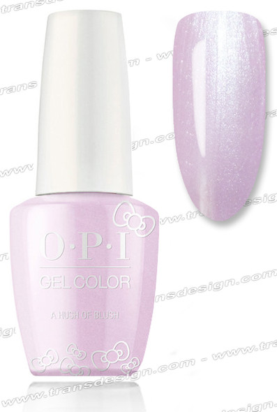 OPI GelColor - A Hush of Blush * 0.5oz.