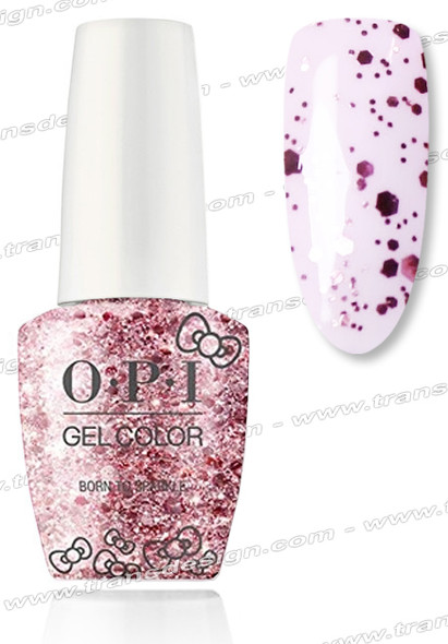 OPI GelColor - Born To Sparkle * 0.5oz.