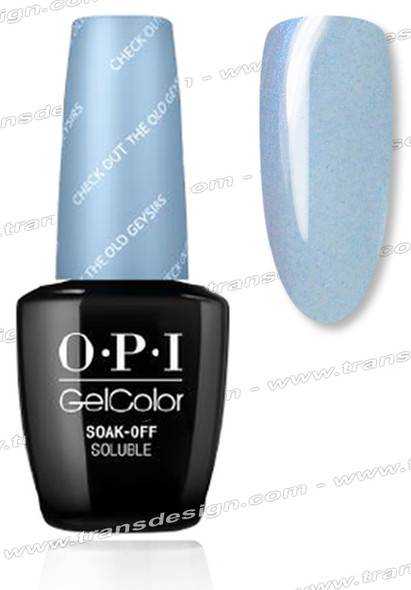 OPI GelColor - Check Out the OId Geysirs 0.5oz.