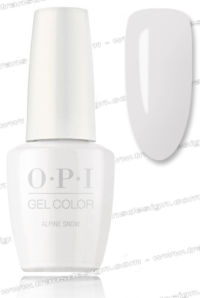 OPI GelColor - Alphine Snow 0.5oz.