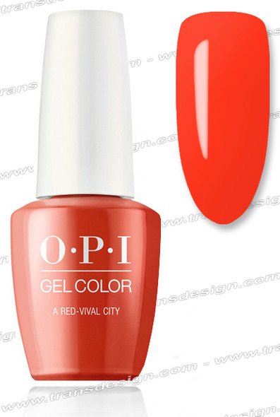 OPI GelColor - A Red-vival City 0.5oz.