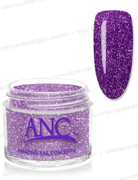 ANC Dip Powder - Amethyst Glitter 1oz.  #37