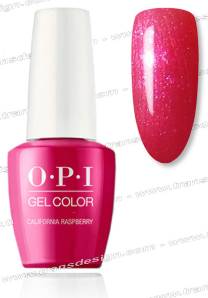 OPI GelColor - California Raspberry 0.5oz.