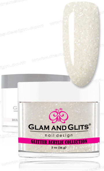 GLAM AND GLITS Glitter Collection - Snow White  2oz.