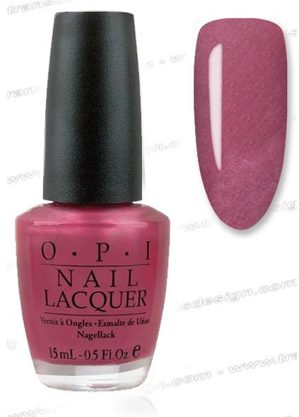 OPI Nail Lacquer - A-rose At Dawn Broke by Noon