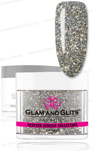GLAM AND GLITS Glitter Collection - Chrome Silver  2oz.