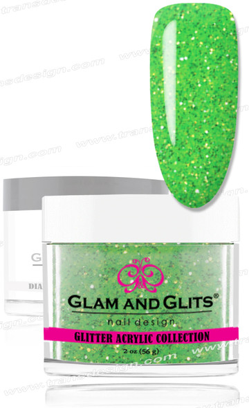 GLAM AND GLITS Glitter Collection - Green Jewel 2oz.