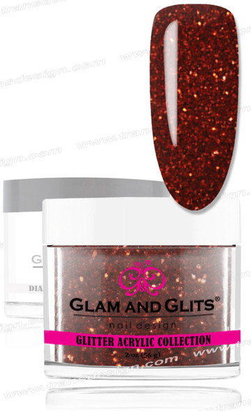 GLAM AND GLITS Glitter Collection - Golden Orange 2oz.