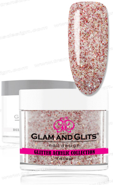 GLAM AND GLITS Glitter Collection - Red Jewel 2oz.