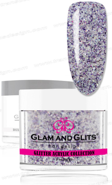 GLAM AND GLITS Glitter Collection - Purple Jewel 2oz.