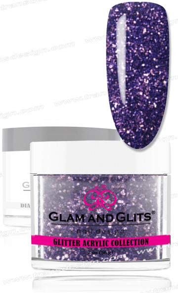 GLAM AND GLITS Glitter Collection - Periwinkle 2oz.