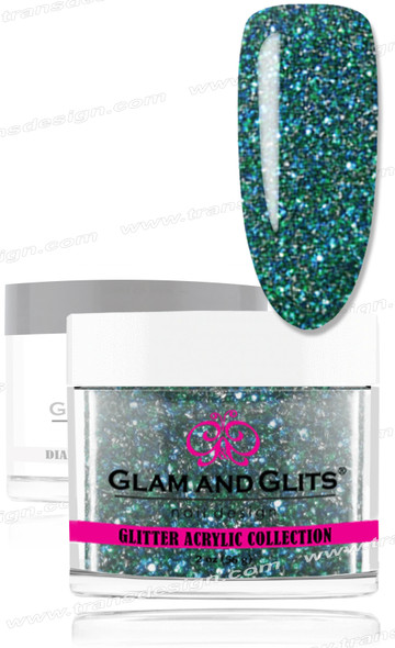 GLAM AND GLITS Glitter Collection - Peacock 2oz.