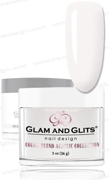 GLAM AND GLITS Color Blend - Milky White 2oz.