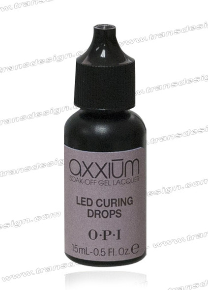 OPI Axxium S/O Led Curing Drop 0.3 ox. - 9ml