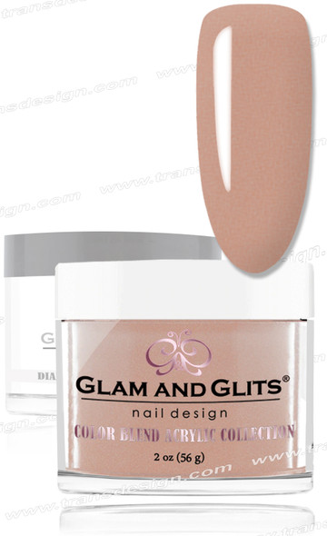 GLAM AND GLITS Color Blend - Nutty Nude 2oz.