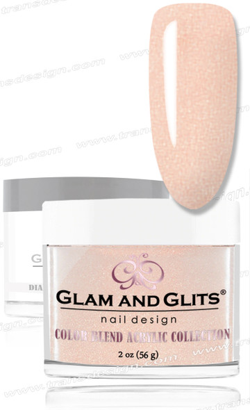 GLAM AND GLITS Color Blend - Honey Luv 2oz.