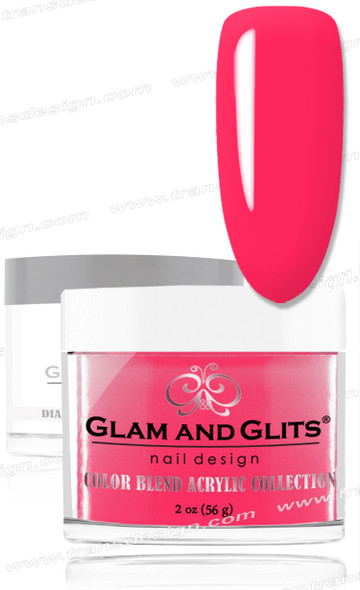 GLAM AND GLITS Color Blend -  XOXO 2oz.