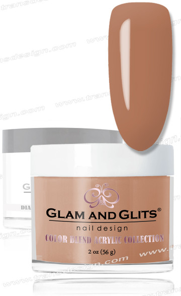 GLAM AND GLITS Color Blend - Chestnut 2oz.