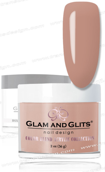 GLAM AND GLITS Color Blend - Light Blush 2oz.
