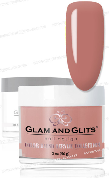 GLAM AND GLITS Color Blend - Dark Blush 2oz.