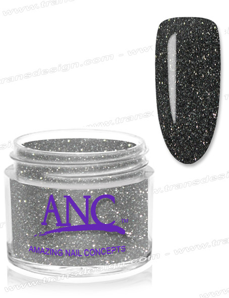 ANC Dip Powder - #102 Black Glitter 2oz.