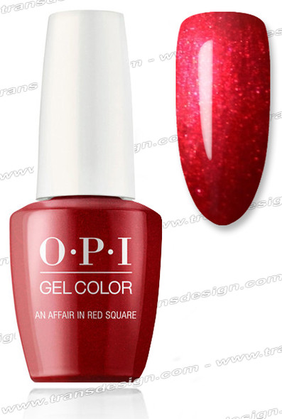 OPI GelColor - An Affair in Red Square 0.5oz.