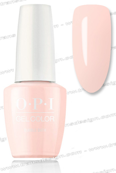 OPI GelColor - Bubble Bath  0.5oz.