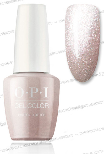 OPI GelColor - Chiffon-d of You 0.5oz.