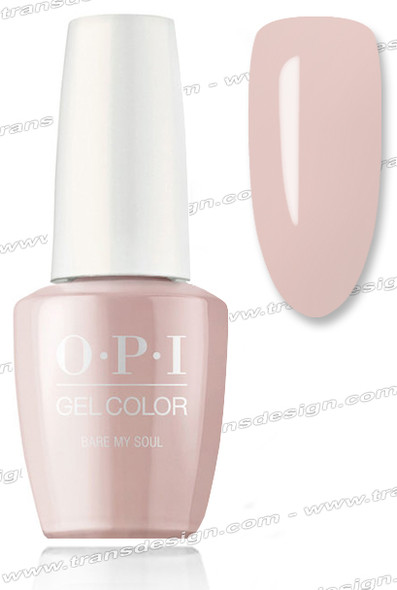 OPI GelColor - Bare My Soul 0.5oz.