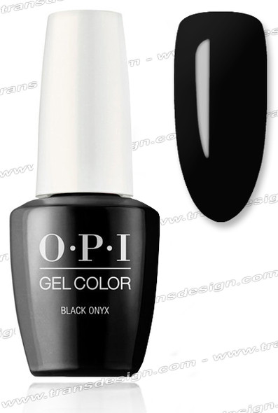OPI GelColor - Black Onyx  0.5oz.