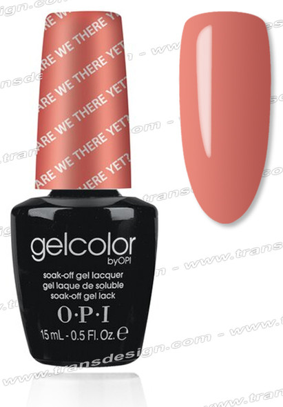 OPI GelColor - Are We There Yet? 0.5oz.