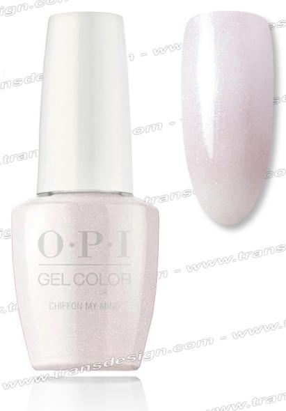 OPI GelColor - Chiffon My Mind 0.5oz.