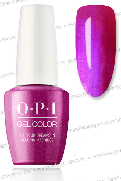 OPI GelColor - All Your Dreams in Vending Machines 0.5oz.