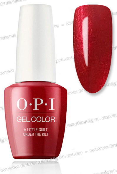 OPI GelColor - A Little Guilt Under the Kilt 0.5oz.
