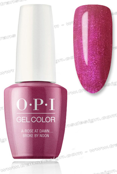 OPI GelColor - A Rose at Dawn…Broke By Noon 0.5oz.