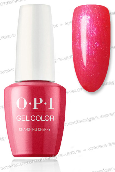OPI GelColor - Cha-Ching Cherry 0.5oz.